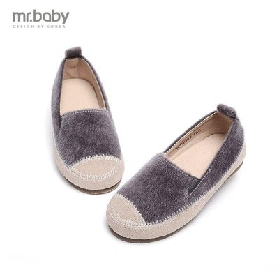 【格倫雅】~秋 女童單鞋 絨毛皮鞋 童鞋 兒童秋鞋24848[g-l-y49