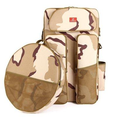 YEAHSHOP 魚竿包 一層雙層釣椅包特大雙肩背包釣魚包漁具包魚護包海竿包漁具包781820Y185