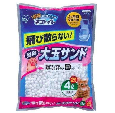 【🐱🐶培菓寵物48H出貨🐰🐹】一個月免替換 IRIS《大玉》除臭貓砂TIO-4L 特價299元