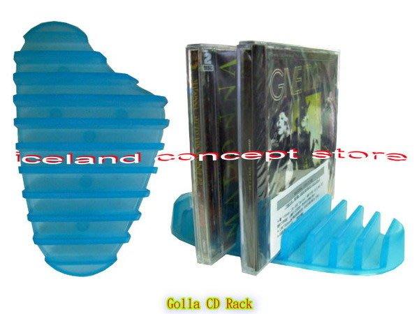 iceland~Golla 鴨腳桌上型CD架 創意商品 (買到賺到,售完為止)