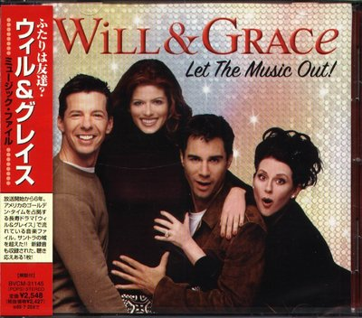 K - Will & Grace Let the Music Out Soundtrack - 日版 - NEW