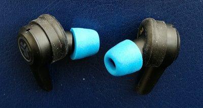 [ 實裝圖 ] 記憶海棉 耳機矽膠套 可用於 JLab JBuds Air Executive 真無線藍牙耳機
