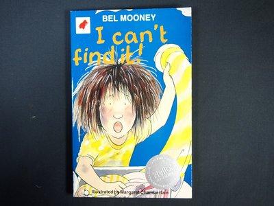 【考試院二手書】《I Cant Find It!》ISBN:0749700300│Mammoth│七成新(22F25)
