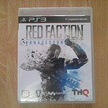 全新 PS3 RED FACTION (赤色戰線 最終決戰末日) 遊戲片
