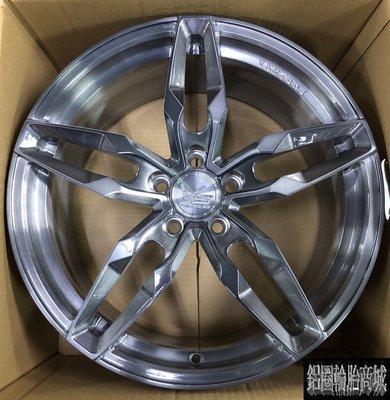 全新鋁圈 VERTINI VS03 18吋鍛造鋁圈 全客製化 亮澤鈦灰全髮絲 另有 19吋 20吋 21吋 22吋 鋁圈