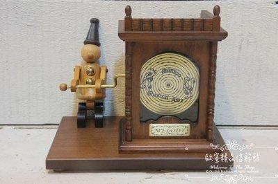 ~*歐室精品傢飾館*~ 木偶 唱盤 音樂車 音樂鈴 音樂盒~新款上市~