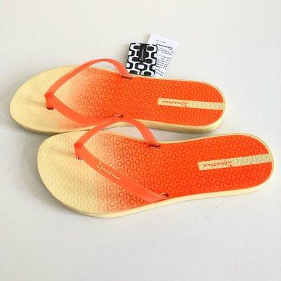 《現貨》Ipanema 女生 拖鞋 巴西尺寸33/34,36,39/40(夢幻漸層 人字夾腳拖鞋-橘色)