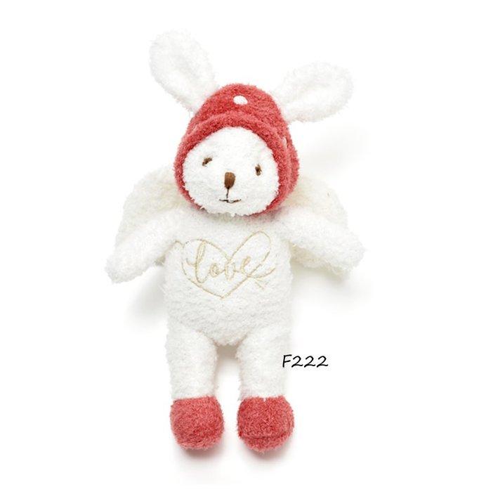 F222超可愛萌呆蘑菇天使兔子 玩偶 軟綿綿 玩偶 安撫偶 安撫玩偶 $650Gelato pique