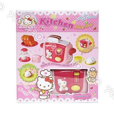 ☆天才老爸☆→《Hello Kittyy》KT 烤麵包機【辦扮家家酒 扮家家酒/角色扮演/三麗鷗】