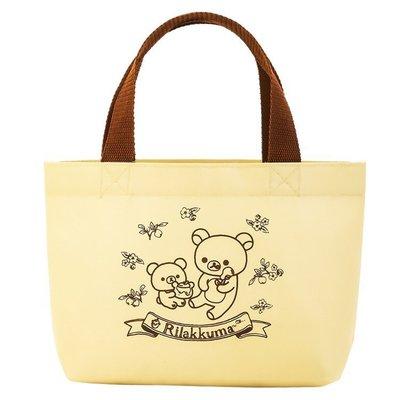 【現貨】日雜日本LAWSON限定 懶懶熊Rilakkuma 拉拉熊 托特包 手提包 手提袋