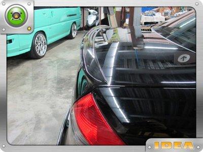 泰山美研社6063 BENZ 朋馳 賓士 W211  E63 AMG 壓尾 壓箱尾翼 W203 W210