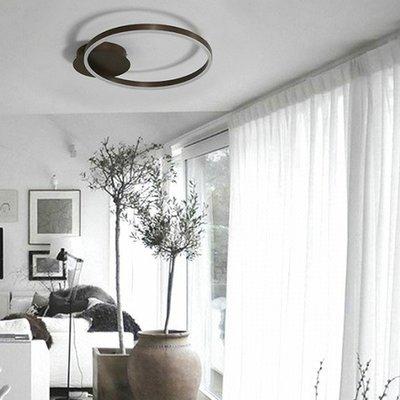 【18Park 】省電節能 Circle circle ceiling lamp [ 圈一圈吸頂燈-單圈40cm ]