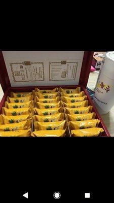 【午后小時光】小潘鳳凰酥 鳳梨酥(有蛋)18入單片包裝禮盒裝 (送提袋)