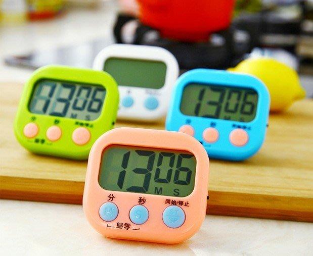 大螢幕電子 倒 計時器/電子 定時器/定時提醒器 液晶 顏色隨機【神來也】
