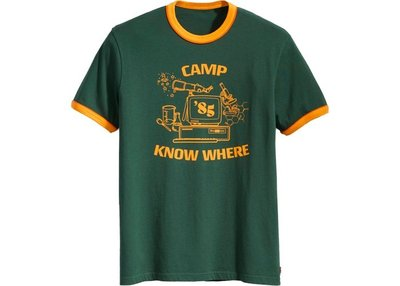 【紐約范特西】預購 Levis x Stranger Things Camp Know Where Ringer Tee