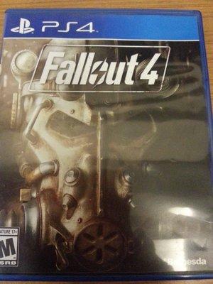 PS4 異塵餘生4 FALLOUT 4 中文 中英文合版 光碟無刮