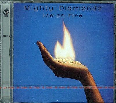 【黑妹音樂盒】The Mighty Diamonds---Ice On Fire-----(全新未拆)