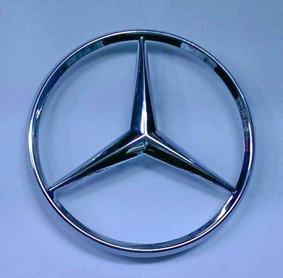 易車汽配 賓士 Benz 鍍鉻星標 logo mark 同原廠款式 直徑10cm A2027580058