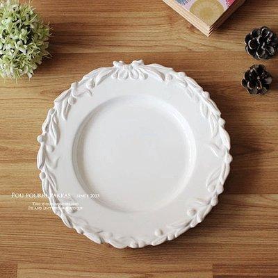 ♥ Poupourri Zakka ♥ 桂冠花圈。仿舊浮雕。橄欖葉浮雕餐盤