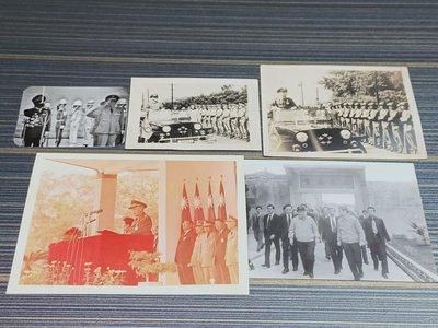 👮老總統蔣中正先生和蔣經國總統先生照片🇹🇼💞(老照)帥氣十足😎