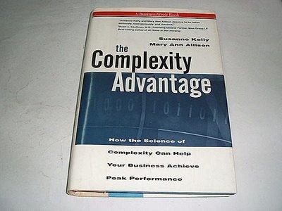 古集二手書 ~the Complexity Advantage Susanne Kelly 0070014000
