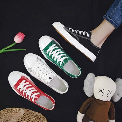 春季新款男鞋學生透氣休閒帆布鞋潮韓版百搭板鞋男生低筒潮鞋