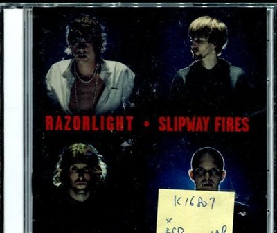 *真音樂* RAZORLIGHT / SLIPWAY FIRES 2CD 二手 K16807 (封面底破)