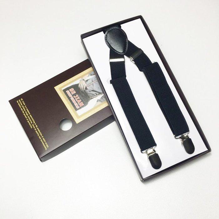 2016加長款背帶褲背帶背帶夾子吊褲帶吊帶夾潮男女通用