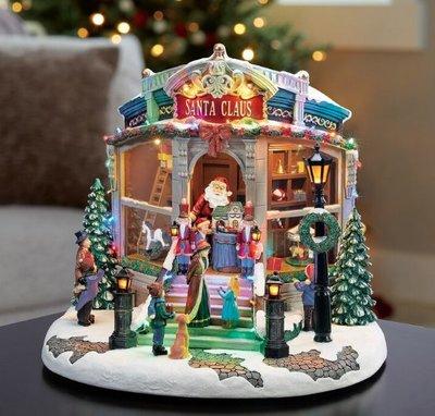 【有顆蕃茄公司貨】15吋 LED聖誕音樂玩具店