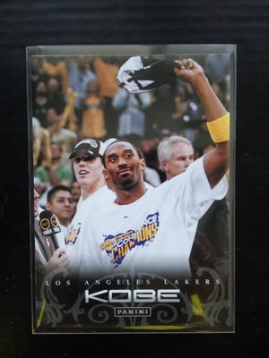 Kobe Bryant - 普卡#92 - 2012 Panini Anthology