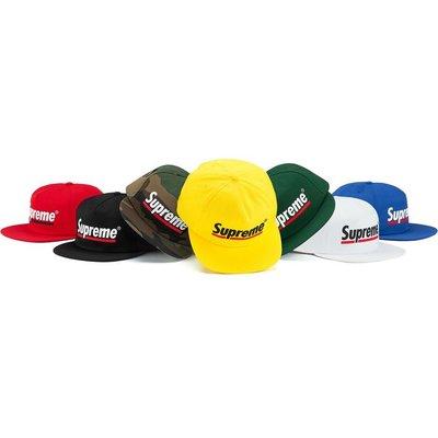 【美國鞋校】預購 Supreme SS20 Underline 5-Panel 棒球帽