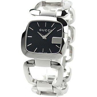 56b906ce621 GUCCI 古馳手錶G GUCCI 系列30×32mm 藍寶石大G 手鍊手環女錶YA125407 ...