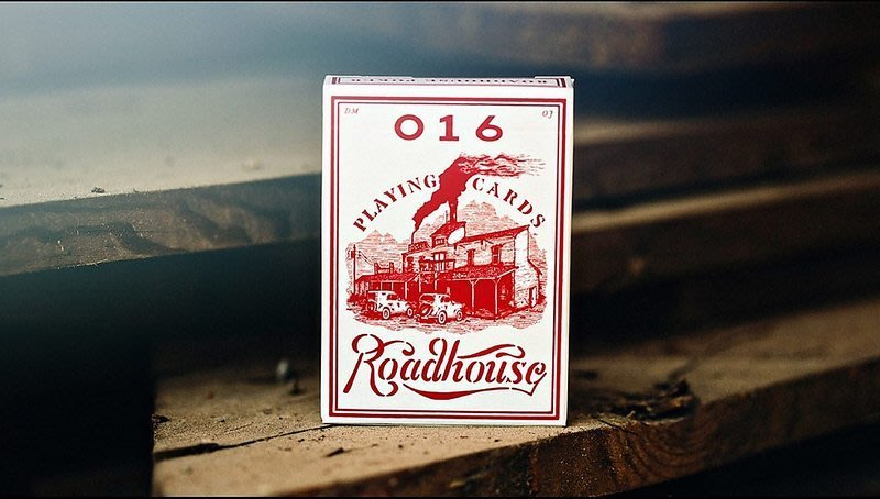 【USPCC 撲克】ROADHOUSE RED PLAYING CARDS