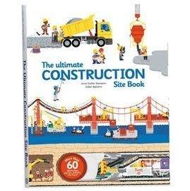 *小貝比的家*ULTIMATE CONSTRUCTION SITE BOOK【終極世界版: 交通工具操作書第二集】