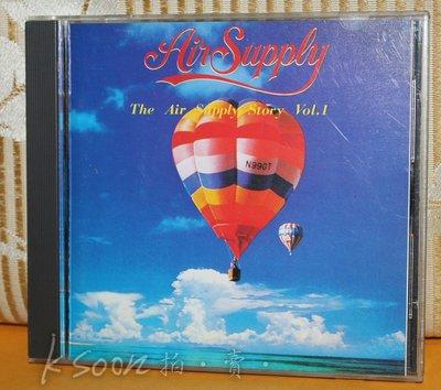 THE AIR SUPPLY STORY VOL.1,1988年,日本製造版,無IFPI,ARISTA唱片