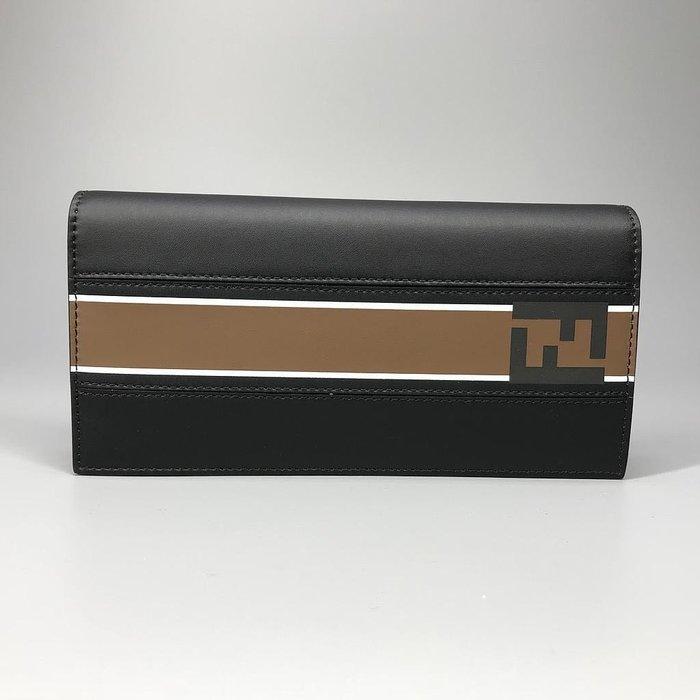 J-Shop Luxury 精品店 Fendi 男款 摺式長夾 錢包