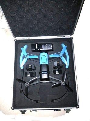【翼世界】Parrot bebop drone 四軸飛行器 空拍機 單機版鋁箱