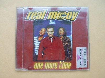 明星錄*1996年英國版.REAL MCCOY EP one more time(宣傳版).二手CD(k375)