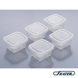 【魔法世界】日本 SKATER 日製透明分裝盒(M)60ml-5入