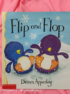 *NO.9 九號書店* Flip and Flop 英文繪本童書 SCHOLASTIC
