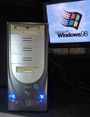 【窮人電腦】跑Win98系統!聯強早期工業主機出清!雙北桃園地區可親送!外縣可寄!
