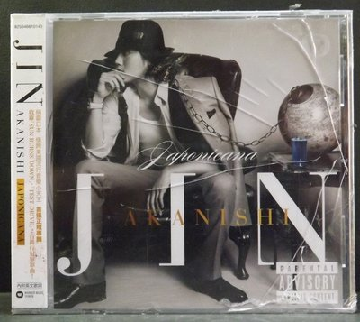 CD JIN AKANISHI-JAPONICANA~全新品~15DF10C04~