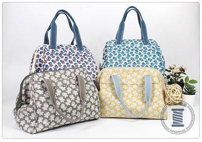 ✿小布物曲✿手作 手提口金包-淑女典型包款 4種不同花色100%進口純棉布料手作縫製