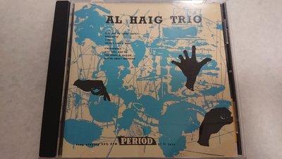 AL HAIG Trio PERIOD 經典發燒爵士錄音20bit 高解析發燒錄音日本盤Venus 錄音絕對美聲