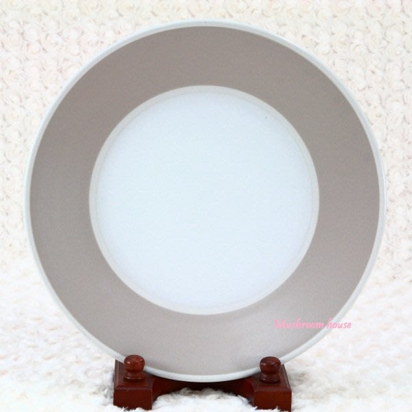 點點蘑菇屋{晚餐盤}義大利WALD Living&Kitchen系列米駝色高溫陶瓷31公分大盤子 水果盤 點心盤 現貨