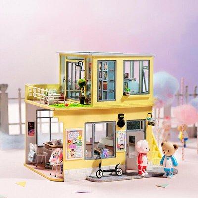 玩具研究中心 現貨代理  TD04  泰迪小屋系列  School Days (無泰迪人偶)