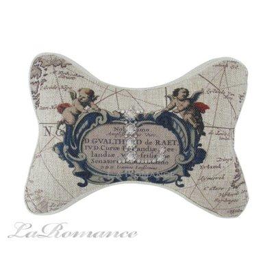 【芮洛蔓 La Romance】天使狗骨頭造型記憶枕 / 懶骨頭 / 頭枕 / 頸枕 / 靠墊