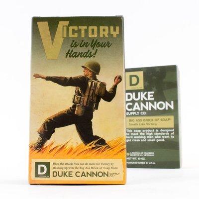 Duke Cannon - BIG ASS 美軍「超能幹」大肥皂 (軍綠) 二戰紀念包裝 - LTS 現貨