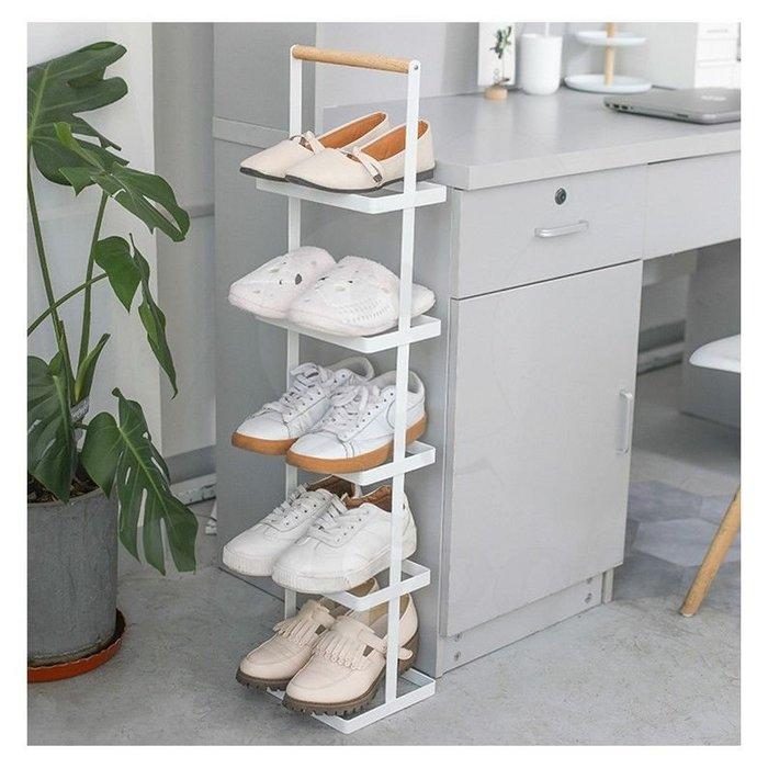 北歐簡約鐵藝鞋架 多層收納鞋架子鞋櫃_☆[好裝飾_SoGoods優購好]☆