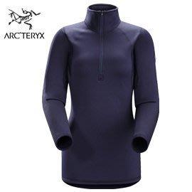 丹大戶外【Arc'teryx】始祖鳥 50131011273M  女保暖衣 馬里亞納墨紫